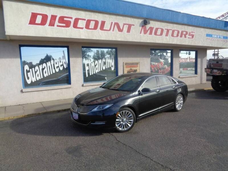 2013 Lincoln MKZ for sale at Discount Motors in Pueblo CO