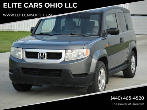 2011 Honda Element for sale at ELITE CARS OHIO LLC in Solon OH