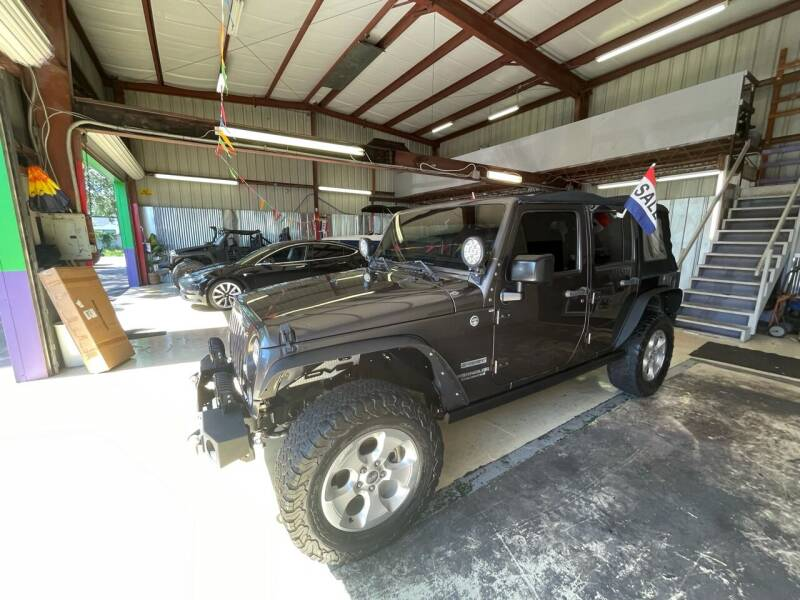 2014 Jeep Wrangler Unlimited for sale at Bay City Autosales in Tampa FL