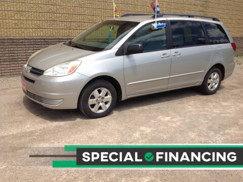 2004 Toyota Sienna for sale at Fridays Auto Deals LLC in Oshkosh WI