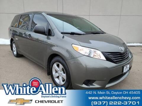 2012 Toyota Sienna for sale at WHITE-ALLEN CHEVROLET in Dayton OH