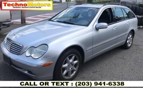 2004 Mercedes-Benz C-Class for sale at Techno Motors in Danbury CT