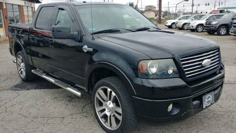 2007 Ford F-150 for sale at AutoBoss PRE-OWNED SALES in Saint Clairsville OH