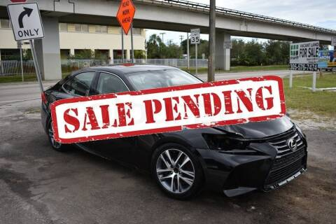 2018 Lexus IS 300 for sale at STS Automotive - Miami, FL in Miami FL
