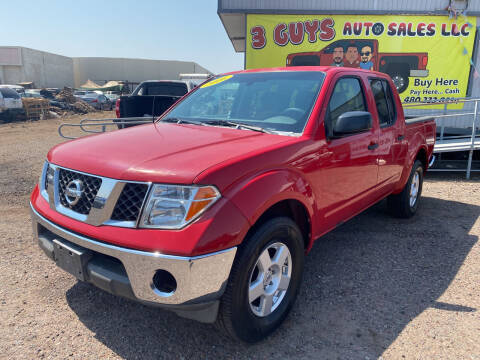 2006 Nissan Frontier for sale at 3 Guys Auto Sales LLC in Phoenix AZ