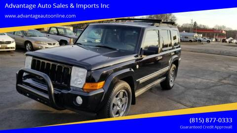 2006 Jeep Commander for sale at Advantage Auto Sales & Imports Inc in Loves Park IL