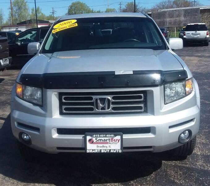 2006 Honda Ridgeline for sale at Smart Buy Auto in Bradley IL