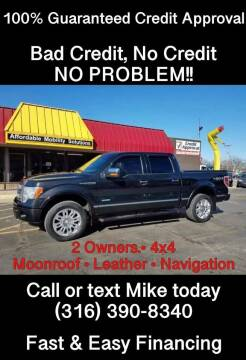 2012 Ford F-150 for sale at Affordable Mobility Solutions, LLC - Standard Vehicles in Wichita KS