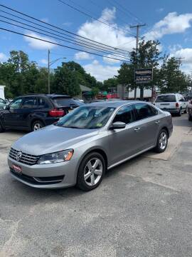 2013 Volkswagen Passat for sale at AUTOMETRICS in Brunswick ME