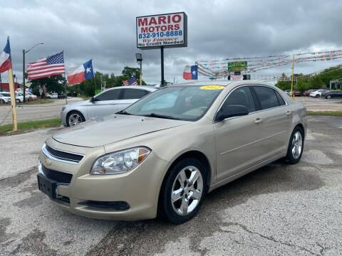2012 Chevrolet Malibu for sale at Mario Motors in South Houston TX
