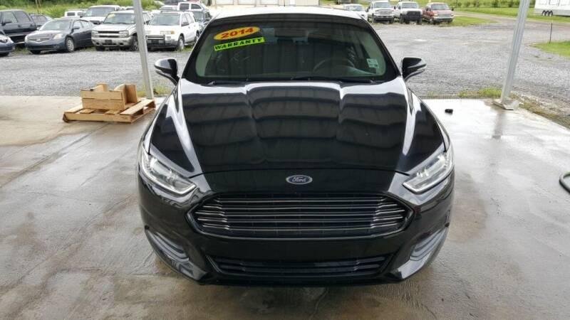 2014 Ford Fusion for sale at Auto Guarantee, LLC in Eunice LA