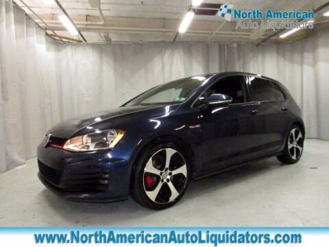 2017 Volkswagen Golf GTI for sale at North American Auto Liquidators in Essington PA