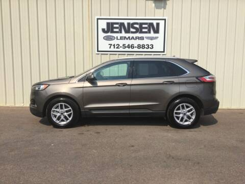 2019 Ford Edge for sale at Jensen's Dealerships in Sioux City IA