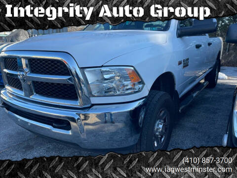 2015 RAM Ram Pickup 2500 for sale at Integrity Auto Group in Westminister MD