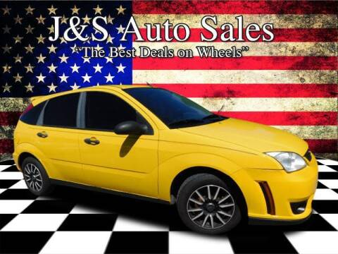 2007 Ford Focus for sale at J & S Auto Sales in Clarksville TN