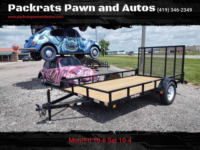 2020 Currahee Trailers Inc. L612 for sale at Packrats Pawn and Autos in Defiance OH