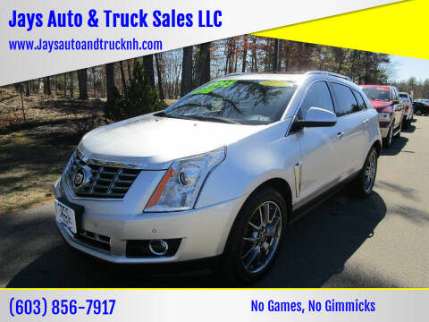 2016 Cadillac SRX for sale at Jays Auto & Truck Sales LLC in Loudon NH