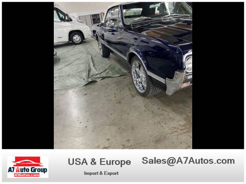 1966 Oldsmobile Cutlass Supreme for sale at A7 AUTO SALES in Daytona Beach FL