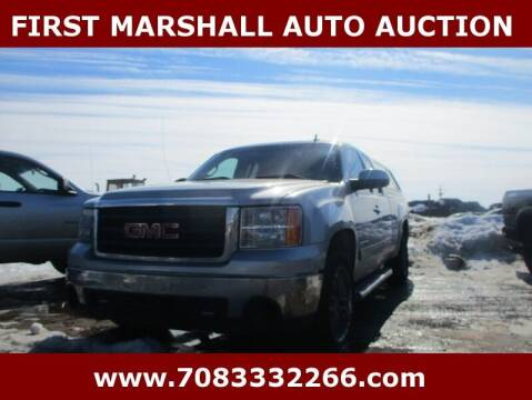 2010 GMC Sierra 1500 for sale at First Marshall Auto Auction in Harvey IL