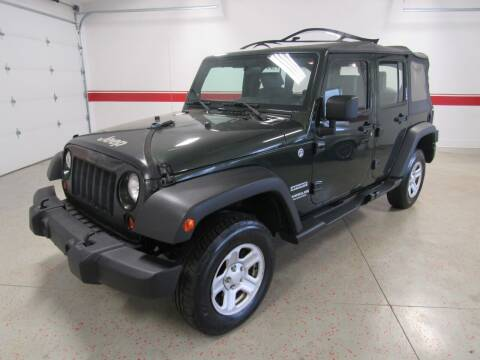 2010 Jeep Wrangler Unlimited for sale at Superior Auto Sales in New Windsor NY
