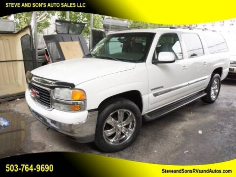 2003 GMC Yukon XL for sale at Steve & Sons Auto Sales in Happy Valley OR