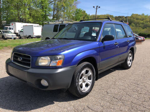 2003 Subaru Forester for sale at Used Cars 4 You in Serving NY