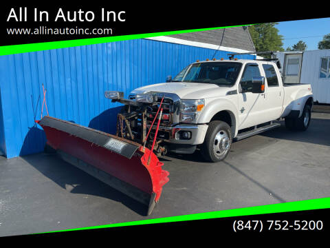2016 Ford F-350 Super Duty for sale at All In Auto Inc in Palatine IL