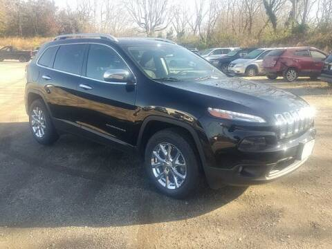 2017 Jeep Cherokee for sale at Strosnider Chevrolet in Hopewell VA