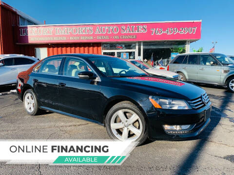 2015 Volkswagen Passat for sale at LUXURY IMPORTS AUTO SALES INC in North Branch MN