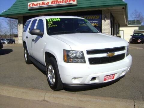 2013 Chevrolet Tahoe for sale at Cheyka Motors in Schofield WI