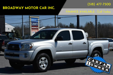 2007 Toyota Tacoma for sale at Broadway Motor Car Inc. in Rensselaer NY