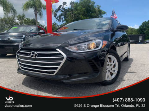 2018 Hyundai Elantra for sale at V & B Auto Sales in Orlando FL