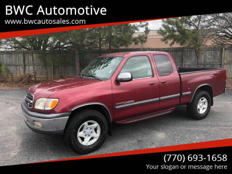 2000 Toyota Tundra for sale at BWC Automotive in Kennesaw GA