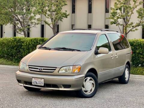 2002 Toyota Sienna for sale at Carfornia in San Jose CA
