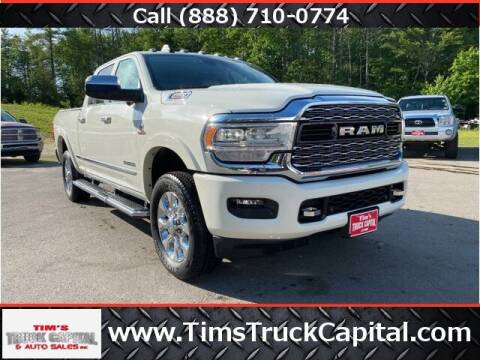 2020 RAM Ram Pickup 2500 for sale at TTC AUTO OUTLET/TIM'S TRUCK CAPITAL & AUTO SALES INC ANNEX in Epsom NH