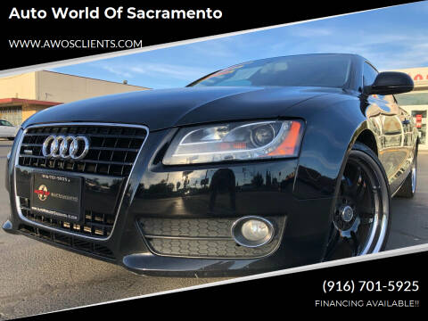 2008 Audi A5 for sale at Auto World of Sacramento Stockton Blvd in Sacramento CA