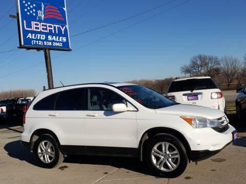 2011 Honda CR-V for sale at Liberty Auto Sales in Merrill IA