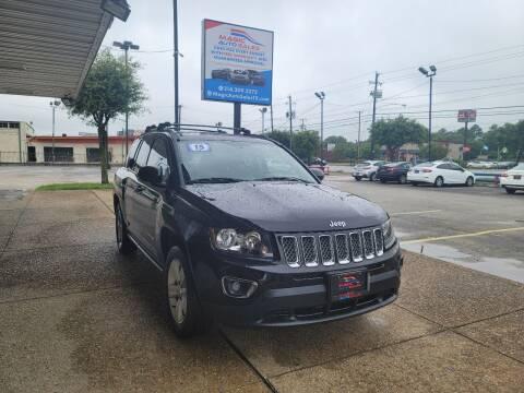 2015 Jeep Compass for sale at Magic Auto Sales in Dallas TX