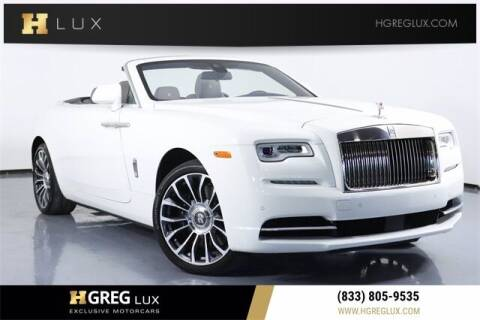 2020 Rolls-Royce Dawn for sale at HGREG LUX EXCLUSIVE MOTORCARS in Pompano Beach FL