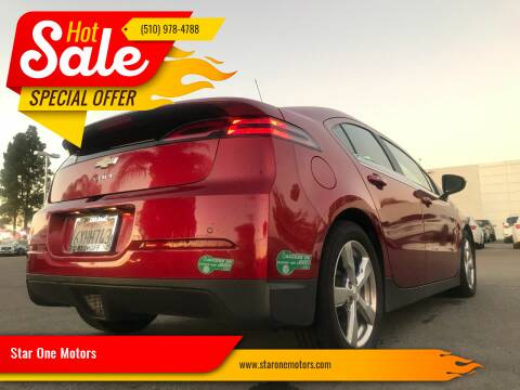 2013 Chevrolet Volt for sale at Star One Motors in Hayward CA