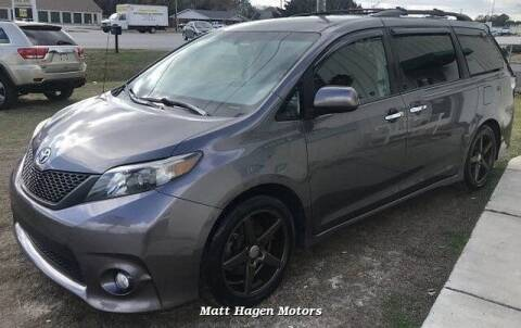 2013 Toyota Sienna for sale at Matt Hagen Motors in Newport NC