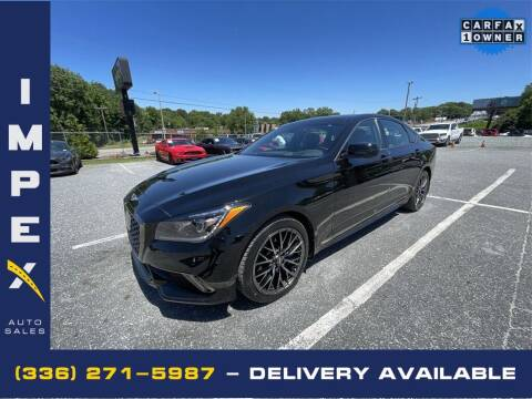 2018 Genesis G80 for sale at Impex Auto Sales in Greensboro NC