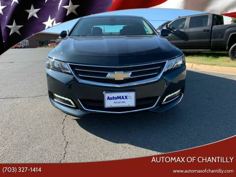 2019 Chevrolet Impala for sale at Automax of Chantilly in Chantilly VA