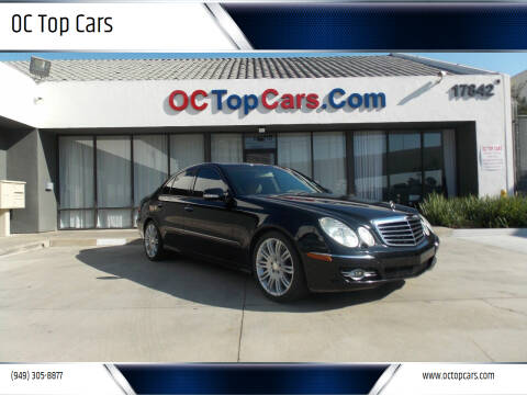 2008 Mercedes-Benz E-Class for sale at OC Top Cars in Irvine CA