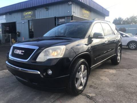 2010 GMC Acadia for sale at CAR VIPS ORLANDO LLC in Orlando FL