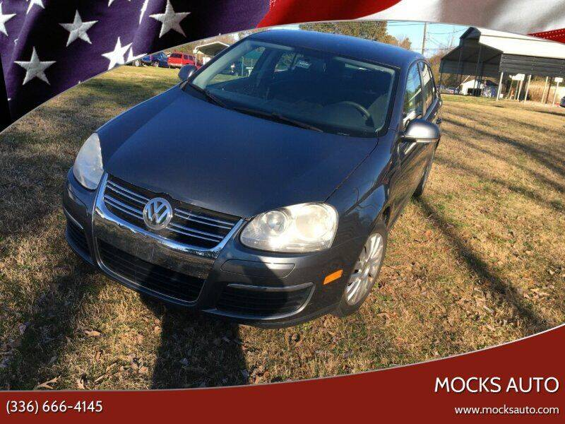 2010 Volkswagen Jetta for sale at Mocks Auto in Kernersville NC