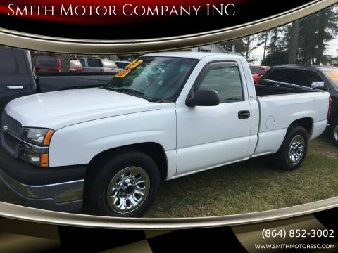 2005 Chevrolet Silverado 1500 for sale at Smith Motor Company INC in Mc Cormick SC