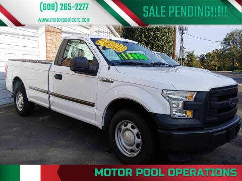 2016 Ford F-150 for sale at Motor Pool Operations in Hainesport NJ
