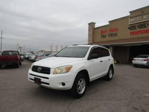 2007 Toyota RAV4 for sale at Import Motors in Bethany OK