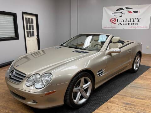 2004 Mercedes-Benz SL-Class for sale at Quality Autos in Marietta GA